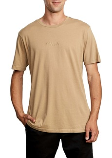RVCA Small Embroidered Logo T-Shirt