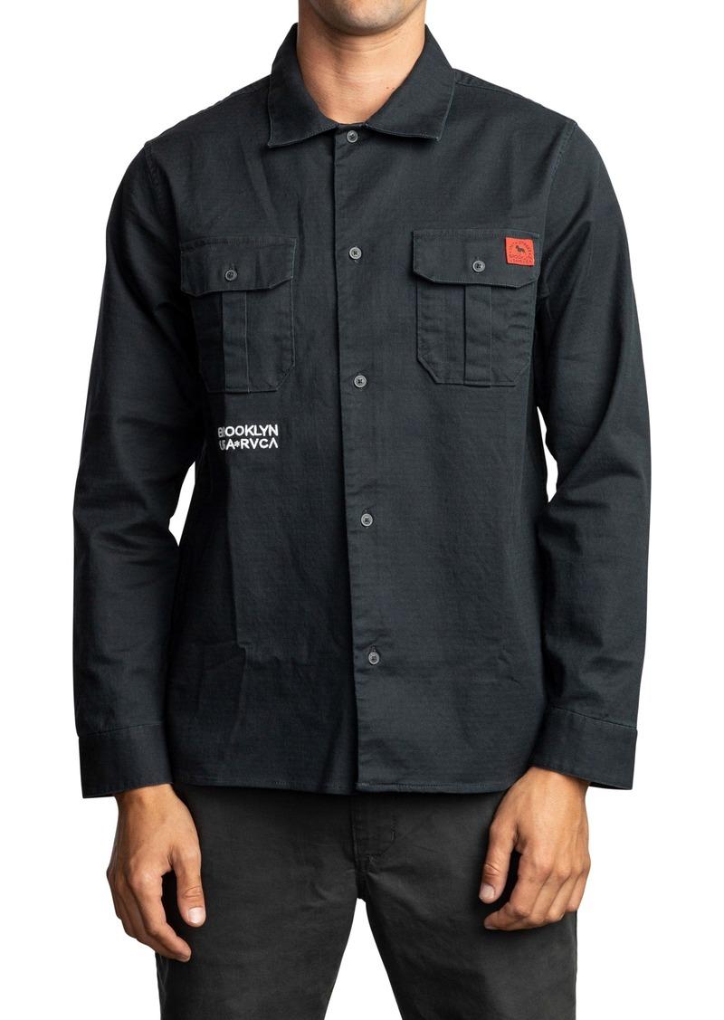 RVCA Smith Street Stretch Shirt Jacket