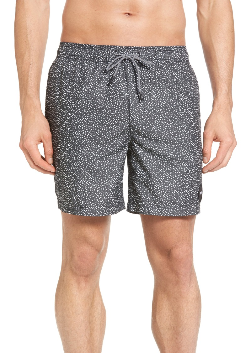 b6642ffe17 RVCA RVCA Speckled Print Swim Trunks | Swimwear