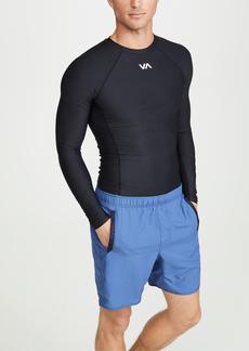 RVCA Sport Compression Long Sleeve Tee