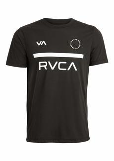 RVCA Sport Men's VA Sport Mid Bar Short Sleeve Tee