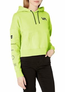 RVCA Women's Sport Hooded Sweatshirt