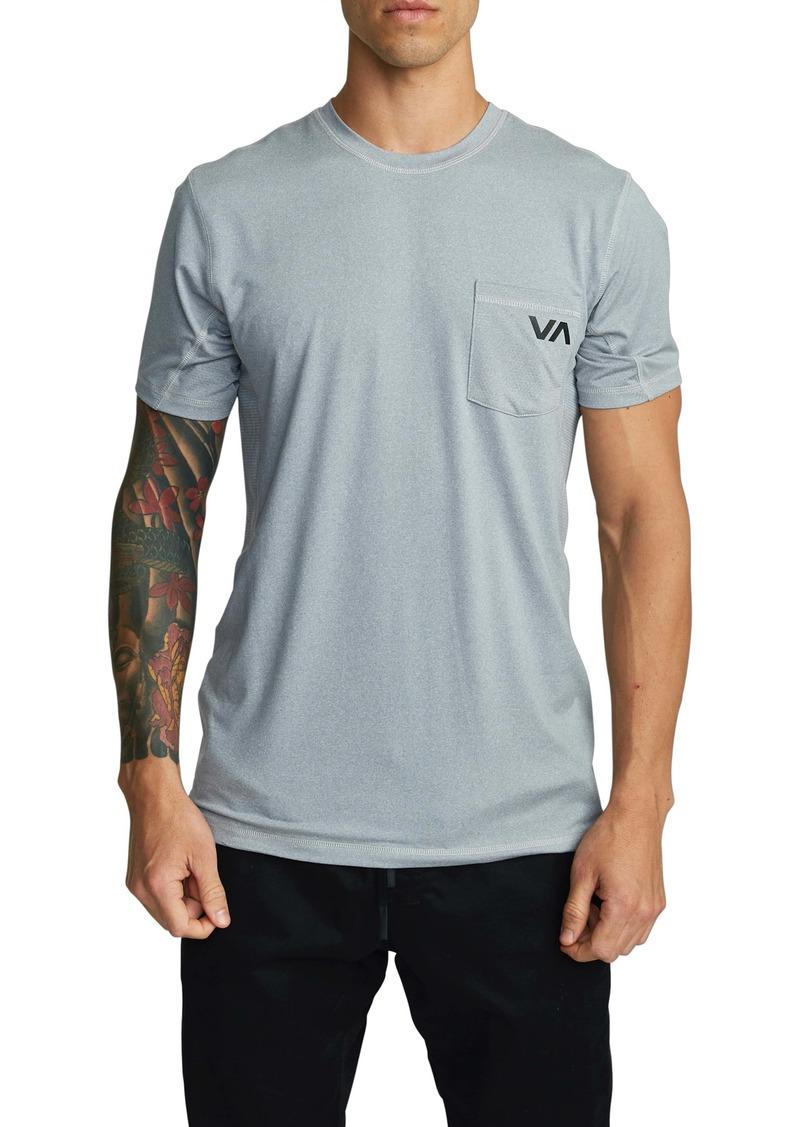 RVCA Sport Vent Pocket Performance T-Shirt