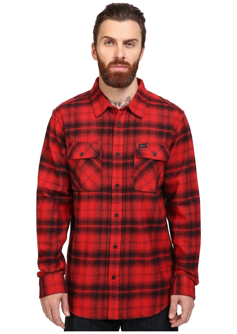 RVCA Standoff Long Sleeve Flannel