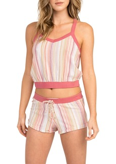 RVCA Such A Gem Stripe Shorts