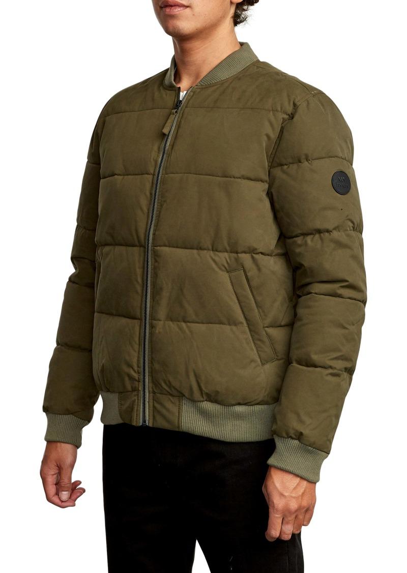 RVCA Superior Bomber Puffer Coat