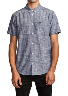 RVCA That'll Do Dobby Short Sleeve Button-Down Shirt