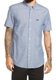 RVCA That'll Do Dobby Short Sleeve Button-Down Shirt