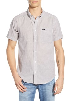 RVCA That'll Do Seersucker Woven Shirt