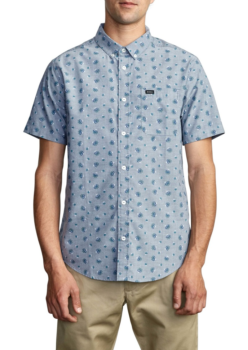 RVCA That'll Do Short Sleeve Button-Down Shirt
