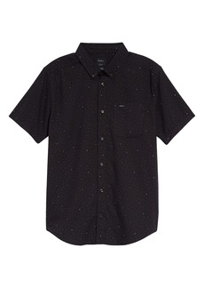 RVCA That'll Do Short Sleeve Button-Down Shirt