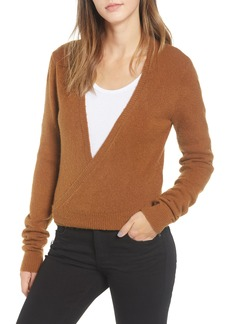 RVCA The Fuz Wrap Sweater