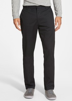 RVCA 'The Week-End' Slim Straight Leg Stretch Twill Chinos (Online Only)