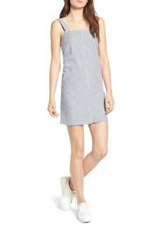 RVCA Tide Lace-Up Back Shift Dress