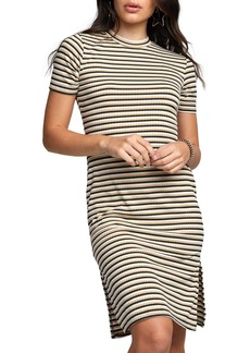 RVCA Troublemaker Stripe Body-Con Dress
