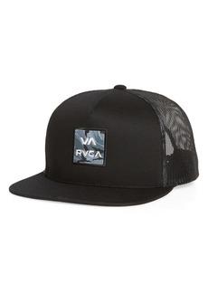 RVCA VA All the Way Print Trucker Hat