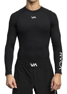 RVCA VA Long Sleeve Compression T-Shirt