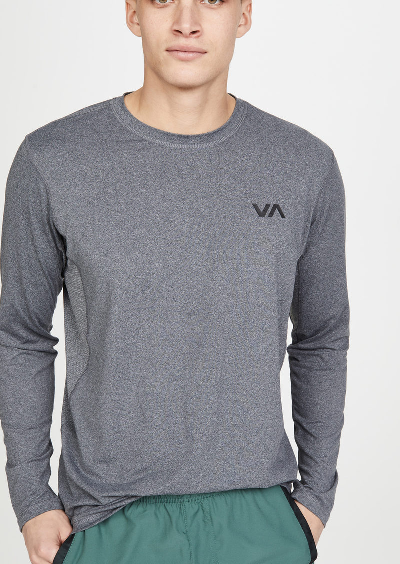 RVCA VA Sport Long Sleeve Vent T-Shirt