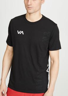 RVCA Va Sport Pin Down Short Sleeve Tee