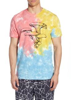 RVCA Vaughn Tie Dye Mushroom T-Shirt