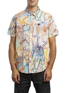 RVCA Vaughn Slim Fit Woven Shirt