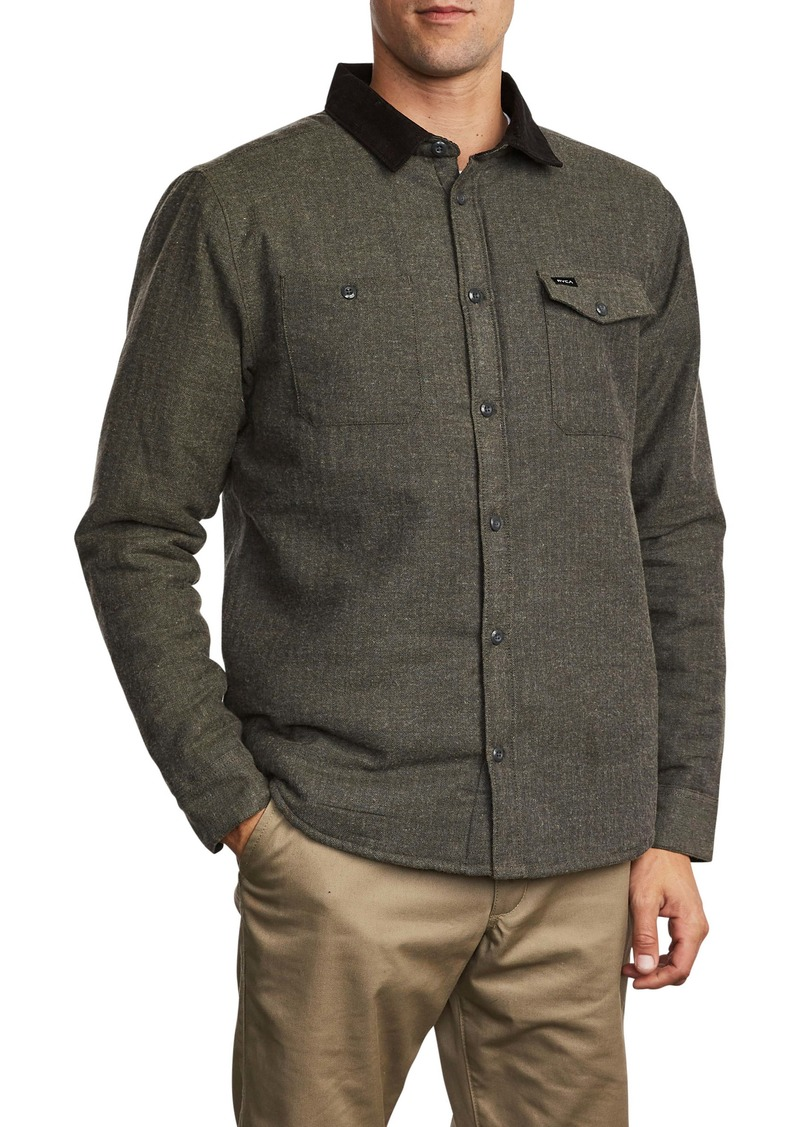 RVCA Victory II Button-Up Shirt