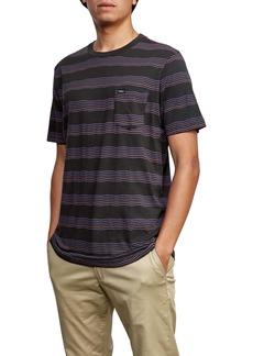RVCA Wavy Stripe Pocket T-Shirt