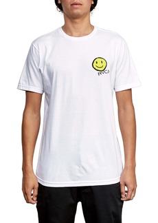 RVCA White Graphic T-Shirt