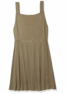 RVCA Junior's Bronwen Ribbed Dress  L