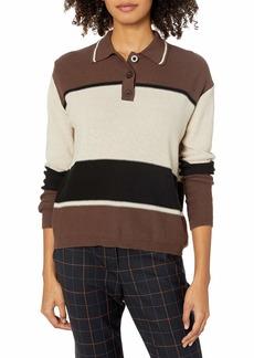 RVCA Junior's DECISIVE Polo Sweater  XS