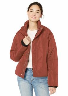 RVCA Junior's EEZEH Puffer Jacket  L