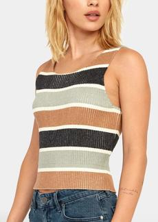 RVCA Women's FOXXE Sweater Tank  L
