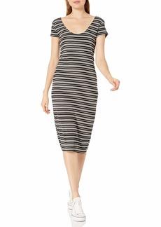 RVCA Women Interest Knit Midi Dress