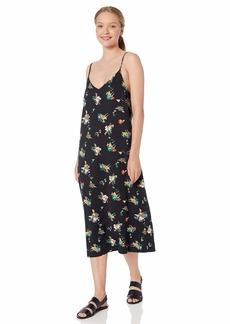 RVCA Women Maddox Floral Midi Slip Dress
