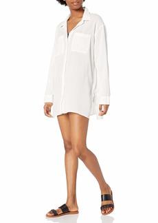 RVCA Women Sundance Oversized Shirt Dress