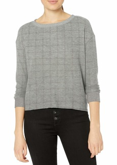 RVCA Junior's Tuned in Long Sleeve TOP  M