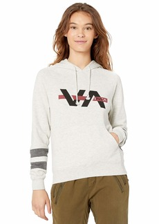 RVCA Junior's VA BAR Hooded Sweatshirt  XS