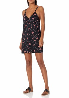 RVCA Junior's Whine Woven Swing Dress  S