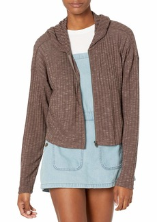 RVCA womens Wilted Knit Top Pullover Sweater   US