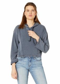 RVCA Women's Ava Cropped Fleece Pullover  XS/