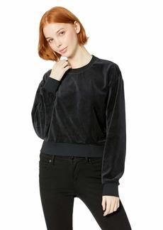 RVCA Women's Babs Velour Fleece Sweater