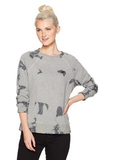 RVCA Women's Clouded Fleece Crew Neck Sweatshirt  M