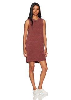 RVCA Women's Double Down Muscle Tank Dress  M