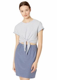 RVCA Womens Fade OUTSTRIPED Dress indigo M
