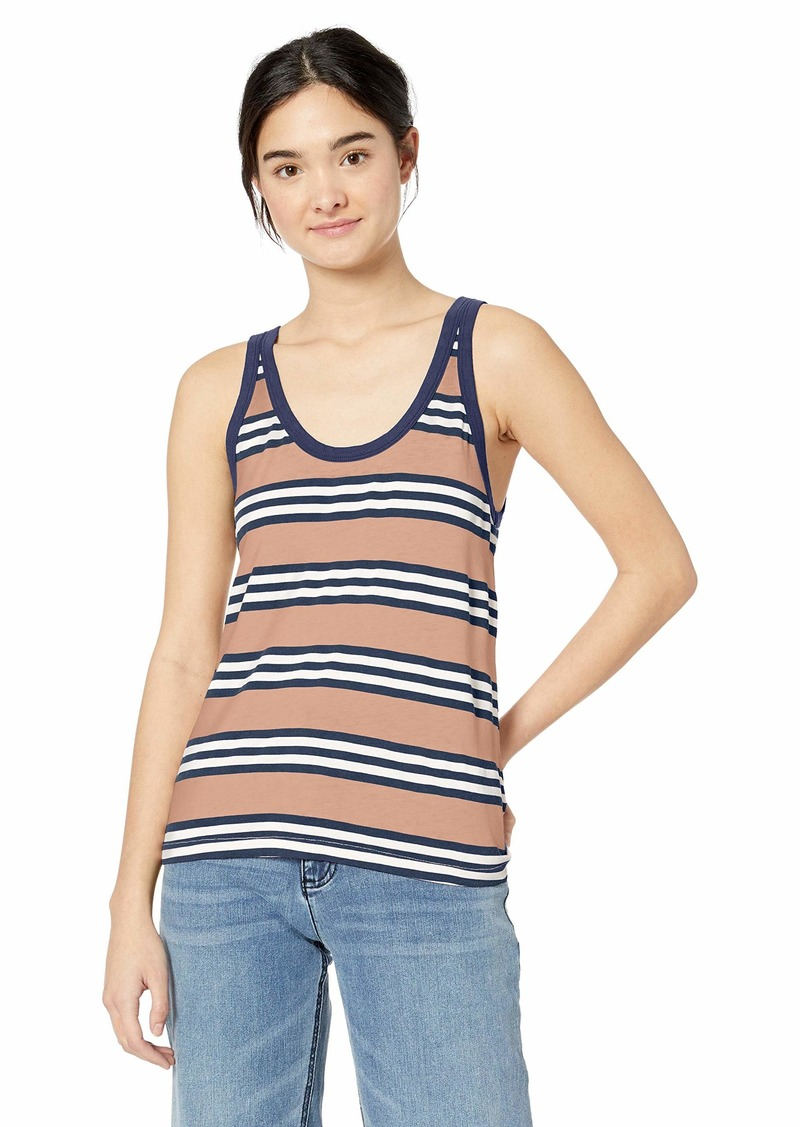 RVCA Women's Ferris Burnout Tank TOP  XL
