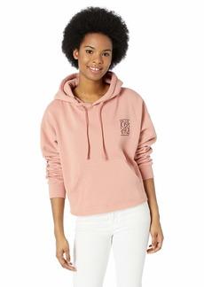 RVCA Women's Flipped Hooded Sweatshirt  XS