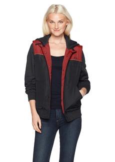RVCA Women's Former Vested Fleece Sweatshirt  L
