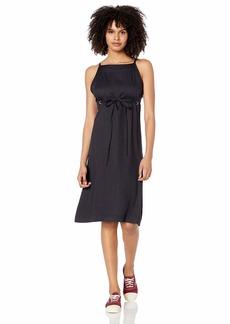 RVCA womens Fortune MIDI Dress black L