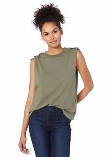 RVCA womens Game Changer TOP army fade M