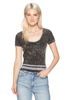 RVCA Women's Girl Crush Scoop Neck Shirt  S